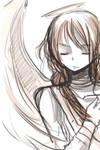 Kiriban Sketch Angel