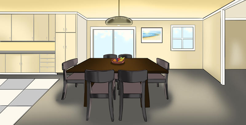 Nice Animation Background   Dining Room By DGanjamie ...