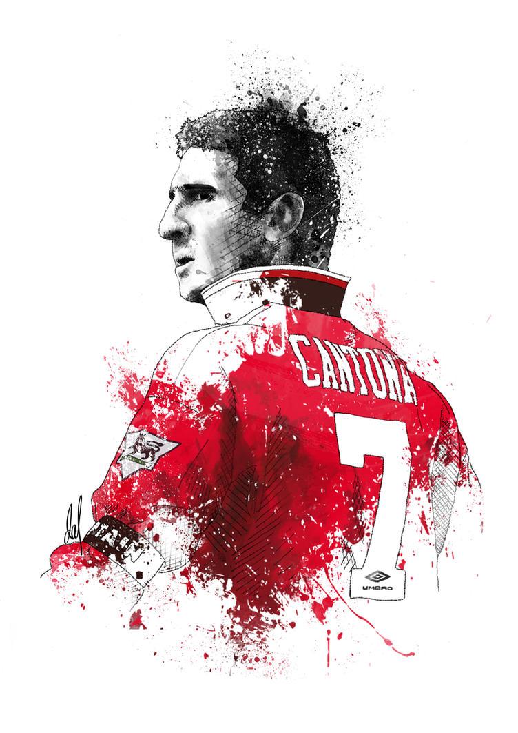 Eric Cantona By Medalxd On Deviantart Manchester United Wallpaper Hd Wallpapersafari