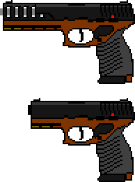 Pistol sprites by builderkid107