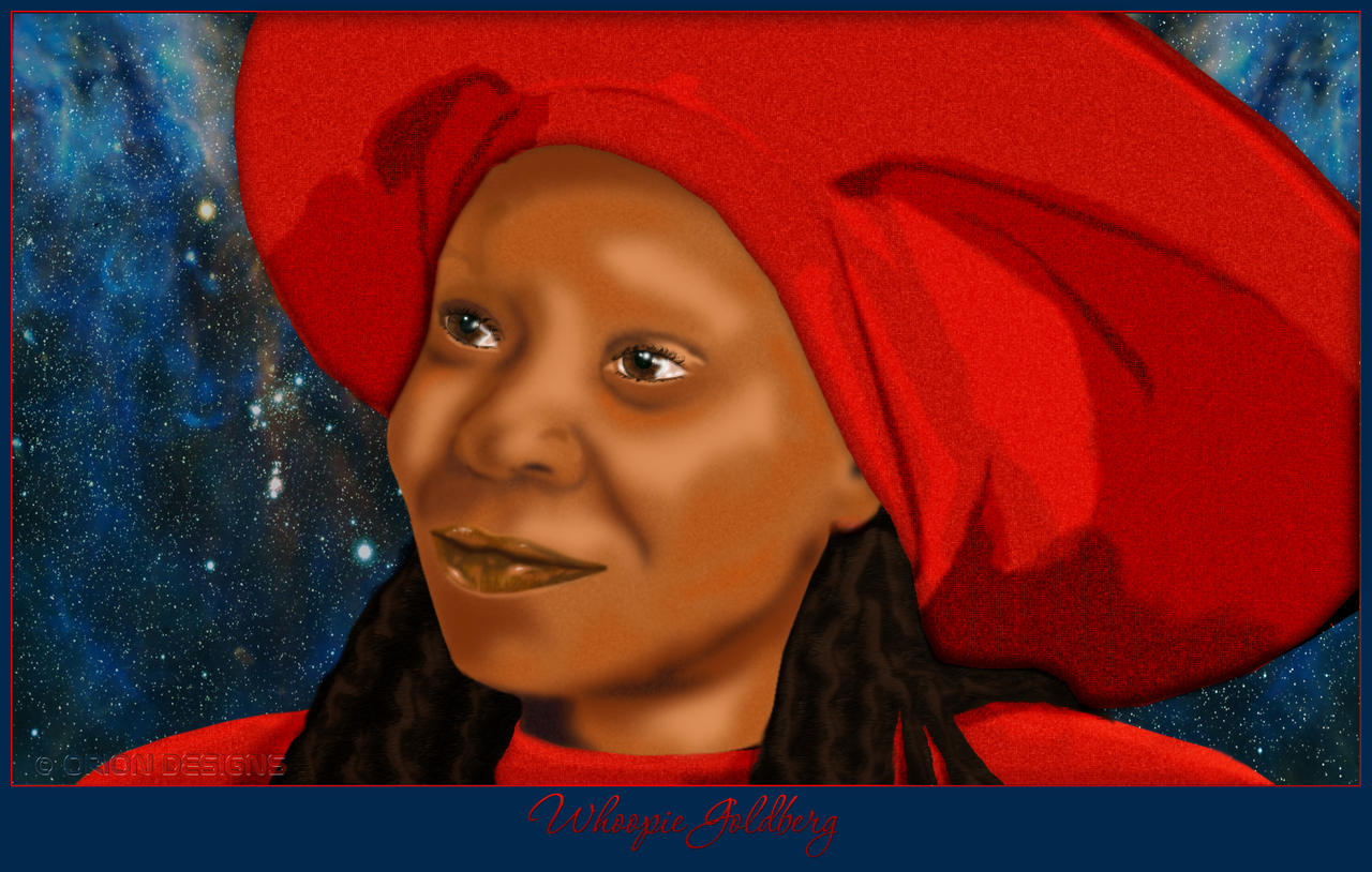 Guinan aka Whoopie Goldberg by Nameda