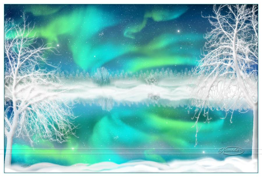 Magic Winter Nights by Nameda