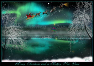 Merry Christmas + a Happy.... by Nameda