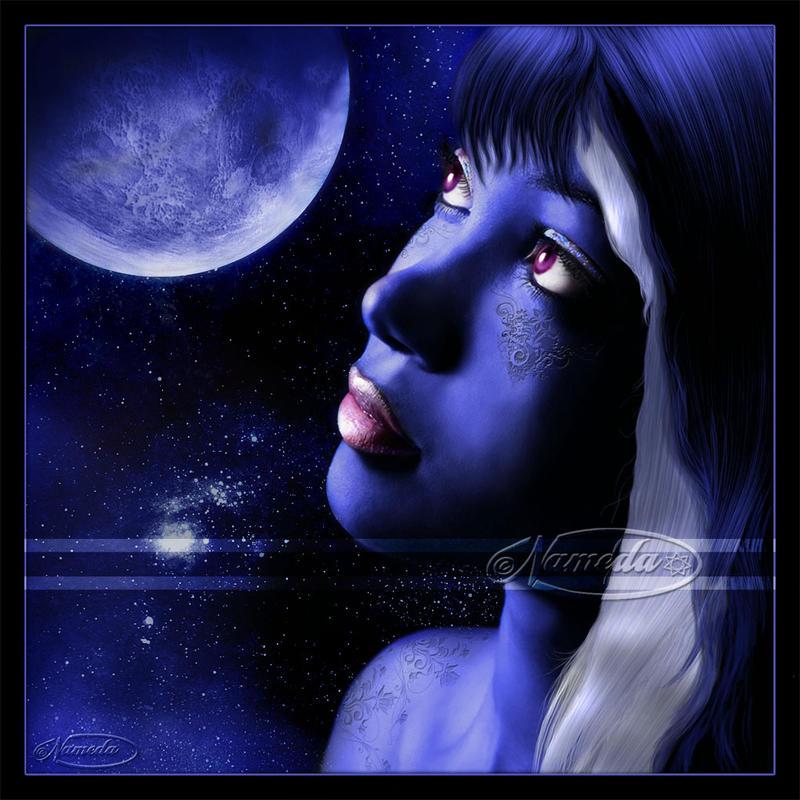 Blue Moon by Nameda