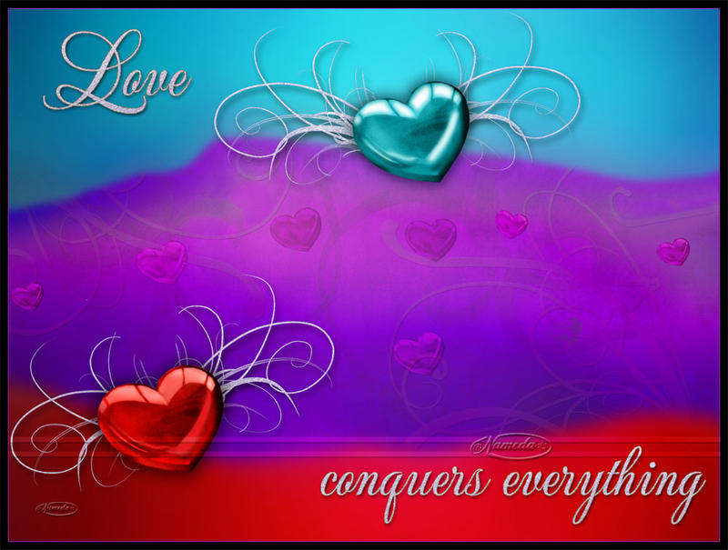 Love conquers everything by Nameda
