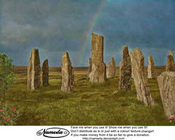 celtic Stock background by Nameda by Nameda