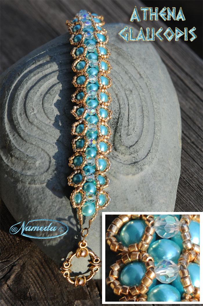 Athena Glaucopis bracelet by Nameda