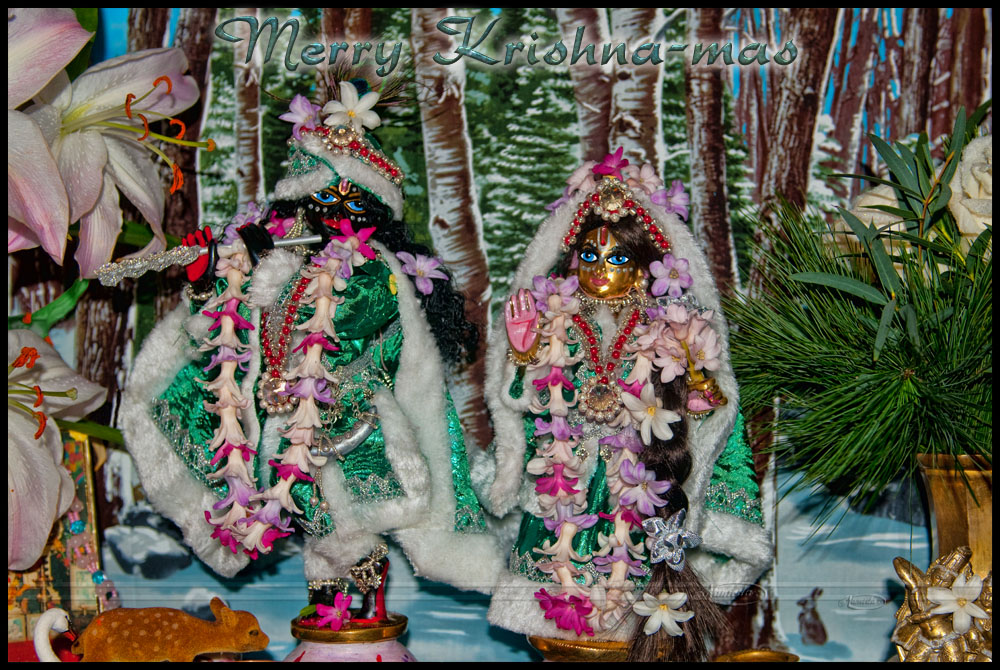 Merry Krishna-mas by Nameda