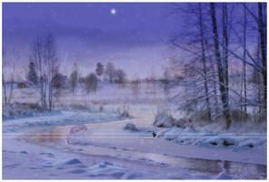 Winter dawn by Nameda