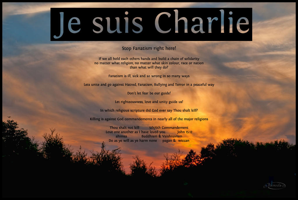 Je suis Charlie by Nameda