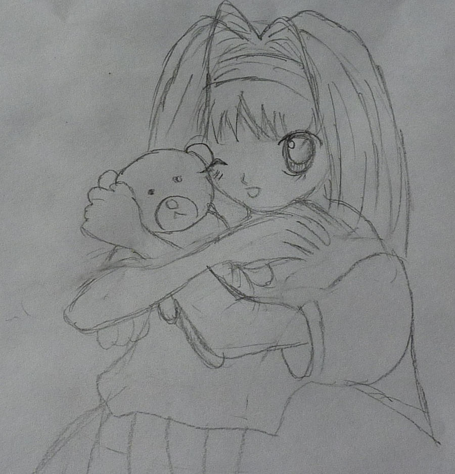 Anime Girl Teddy