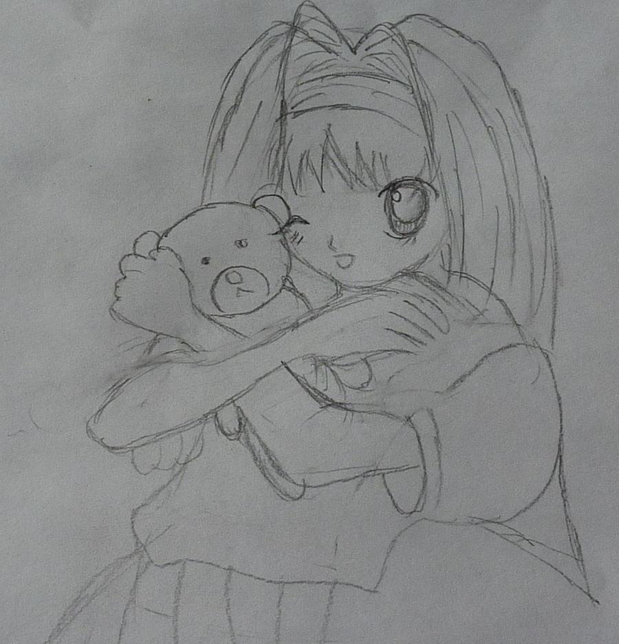 Anime Girl Teddy