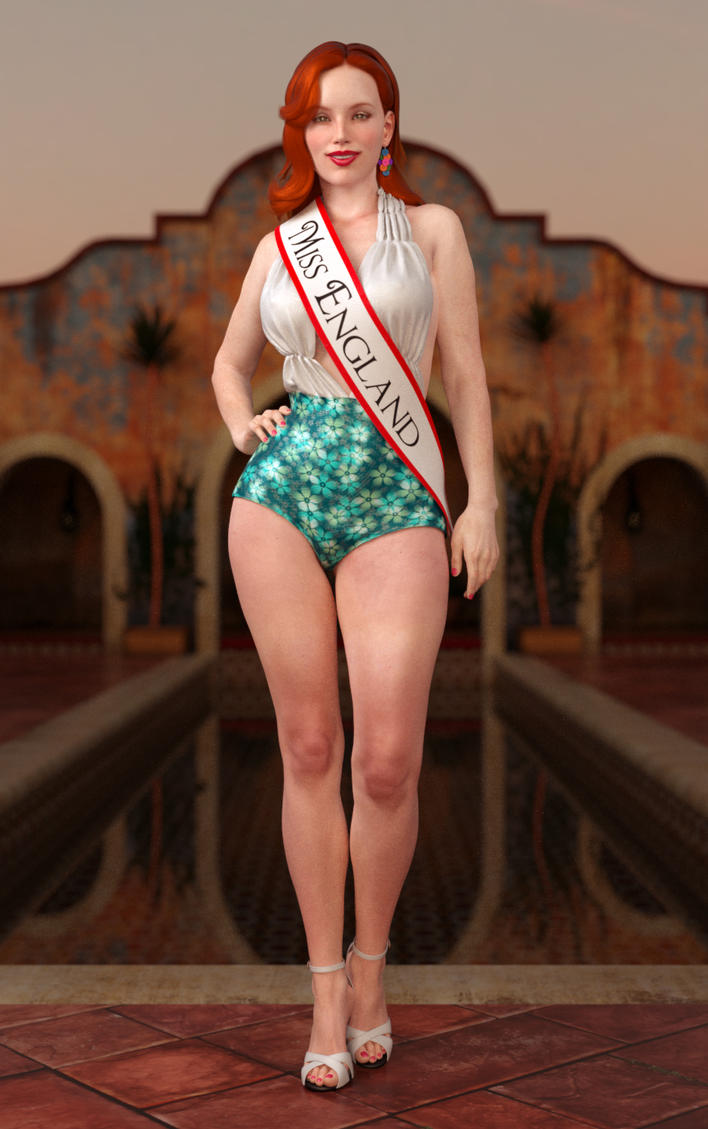 Miss Renderosity 2014 entry - Miss Ava Sparkes by tigerste