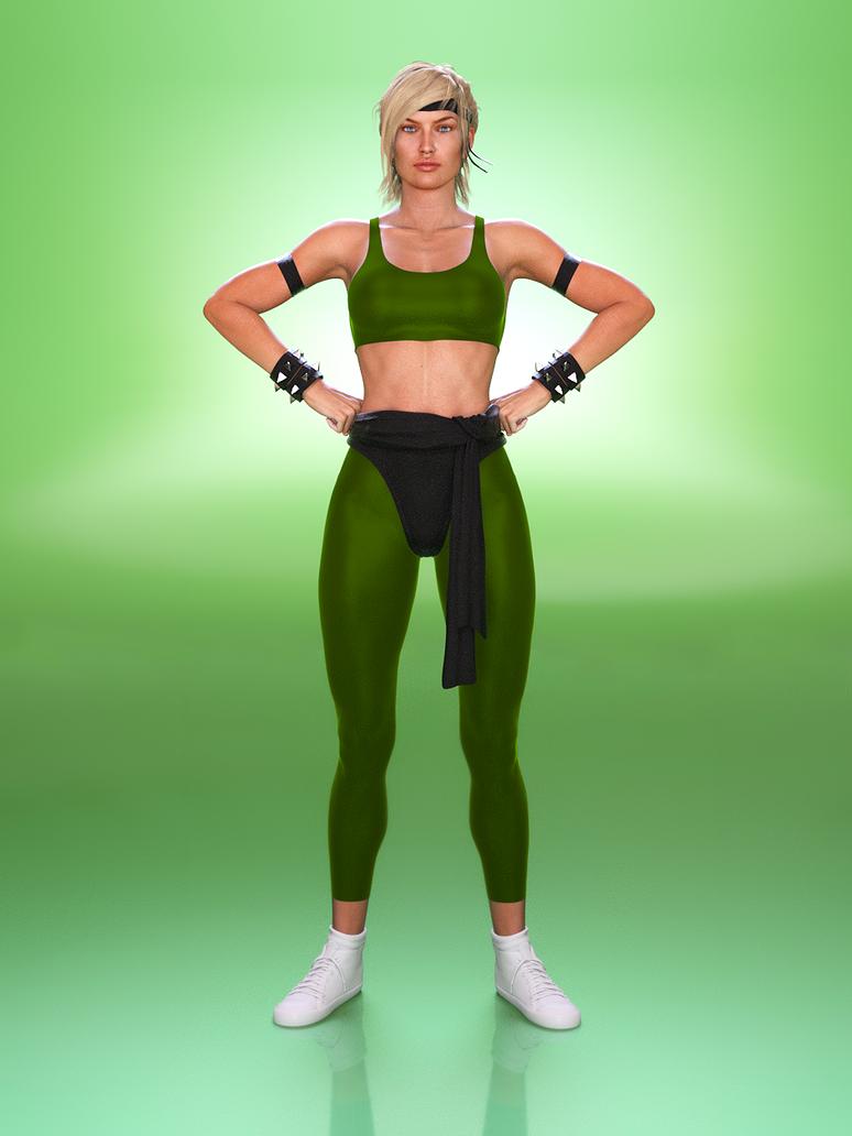 MK Series: Sonya by tigerste