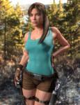 Classic Lara redux - Genesis 3