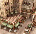 Small Cafe_panoramic view by deltoiddesign