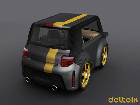 Deltoix Rear Stealth Edition