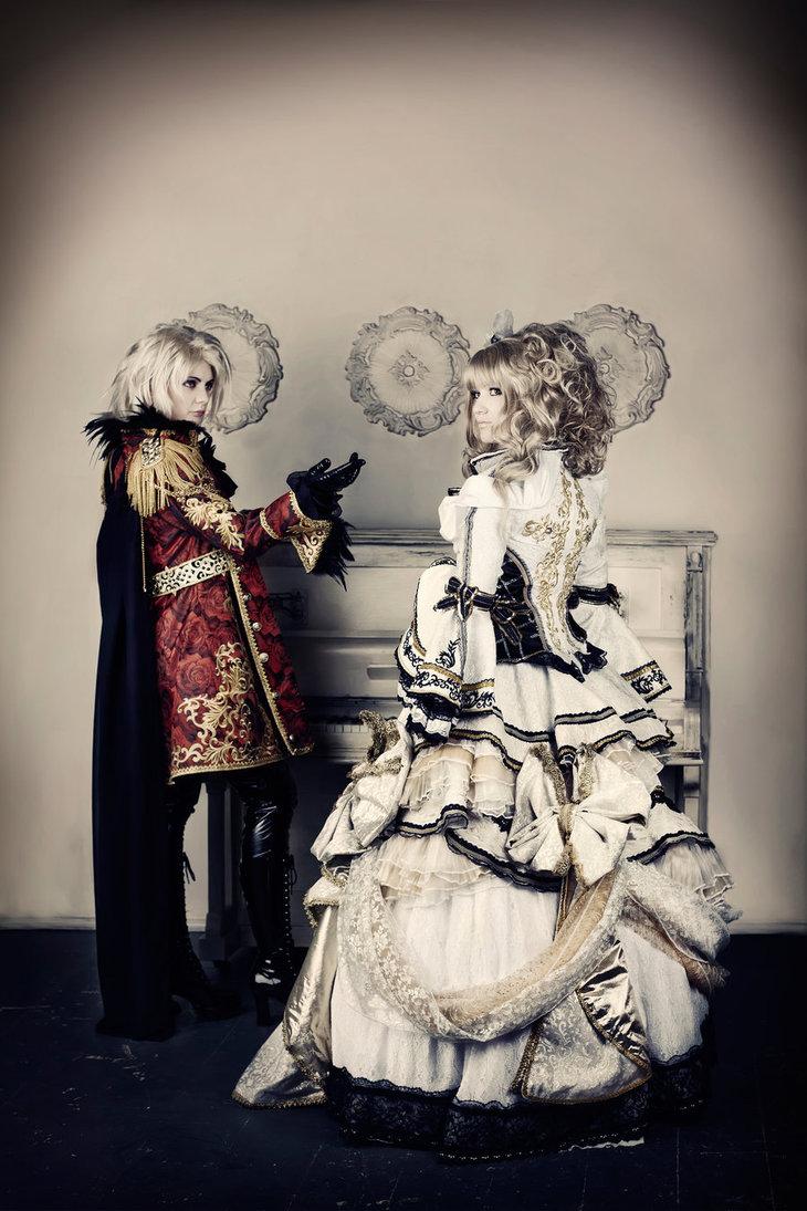 Hizaki and Kamijo cosplay Holy Grail by Lestat-de-L