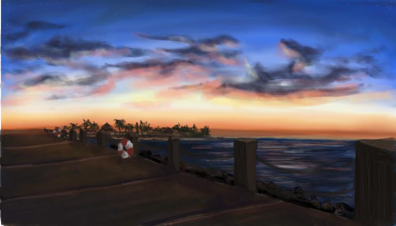 Landscape- Sabah by Zenawr