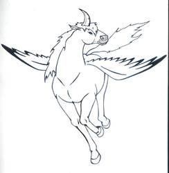 Memorials-Claw horned pegazus