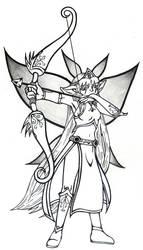 Memorials - Elf archer