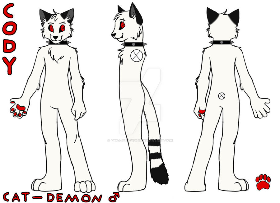 Cody Reference Sheet By MegaShyWolf On Deviantart