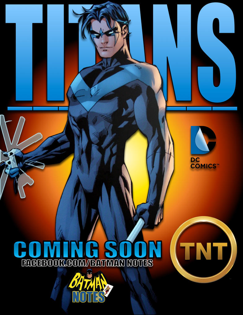 'Titans' Promo Poster (Nightwing) by batmannotes