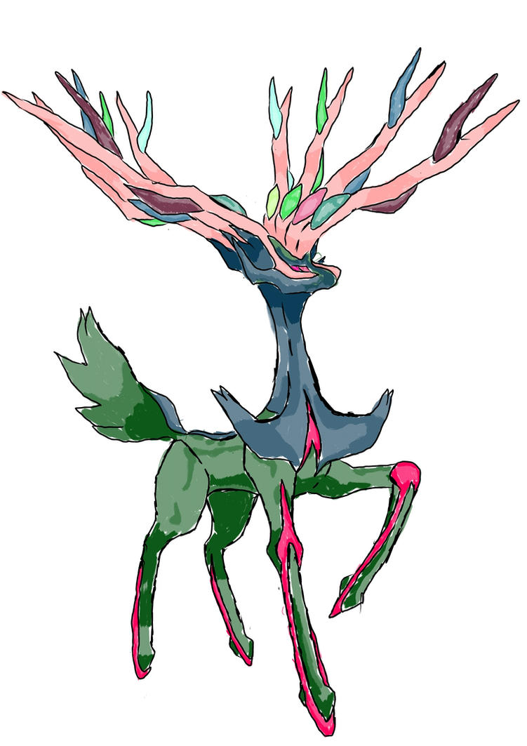 Xerneas Shiny | www.imgkid.com - The Image Kid Has It!