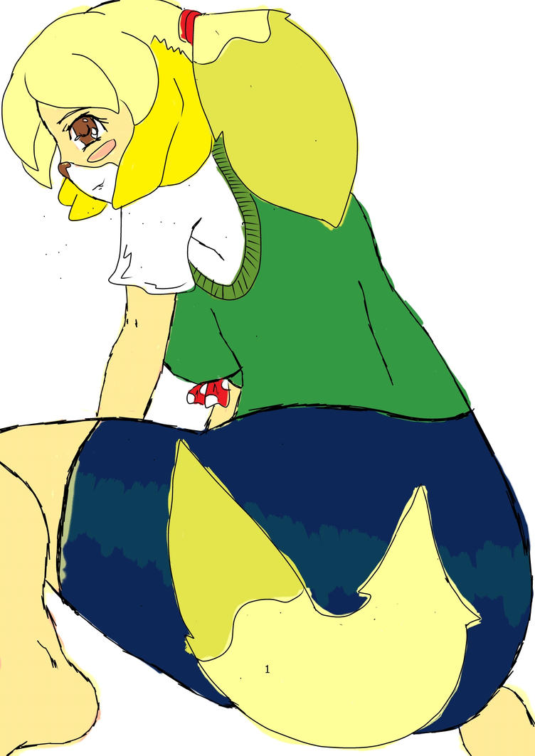 Isabelle from animal crossing new leaf by Tashiyoukai on ...