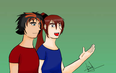 Art Trade Souva and Sugita by NadiaZeta