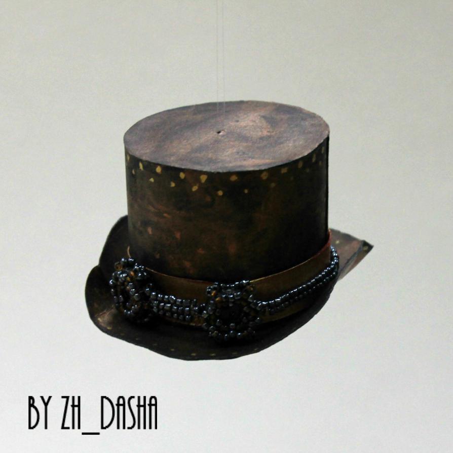 Steampunk Hat Christmas tree toy by zhdasha