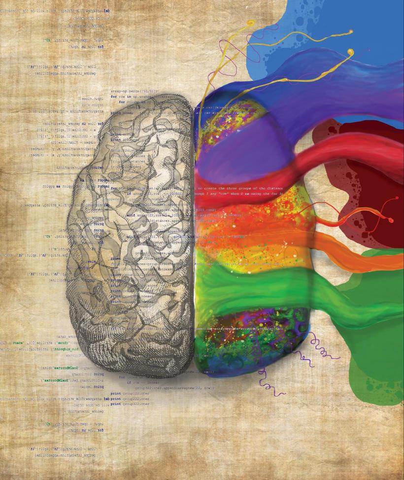 Right Brain Left Brain by jingann