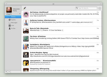 elementary Twitter client - Mockup [WIP] by spg76