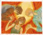 Mockingjay's burning wings