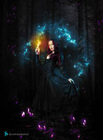 FOREST FLAME - MANIPULATION #4 by selkkie