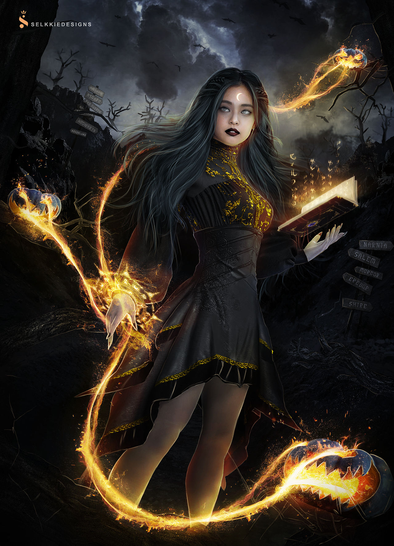 Fire Witch - Jennie Manipulation