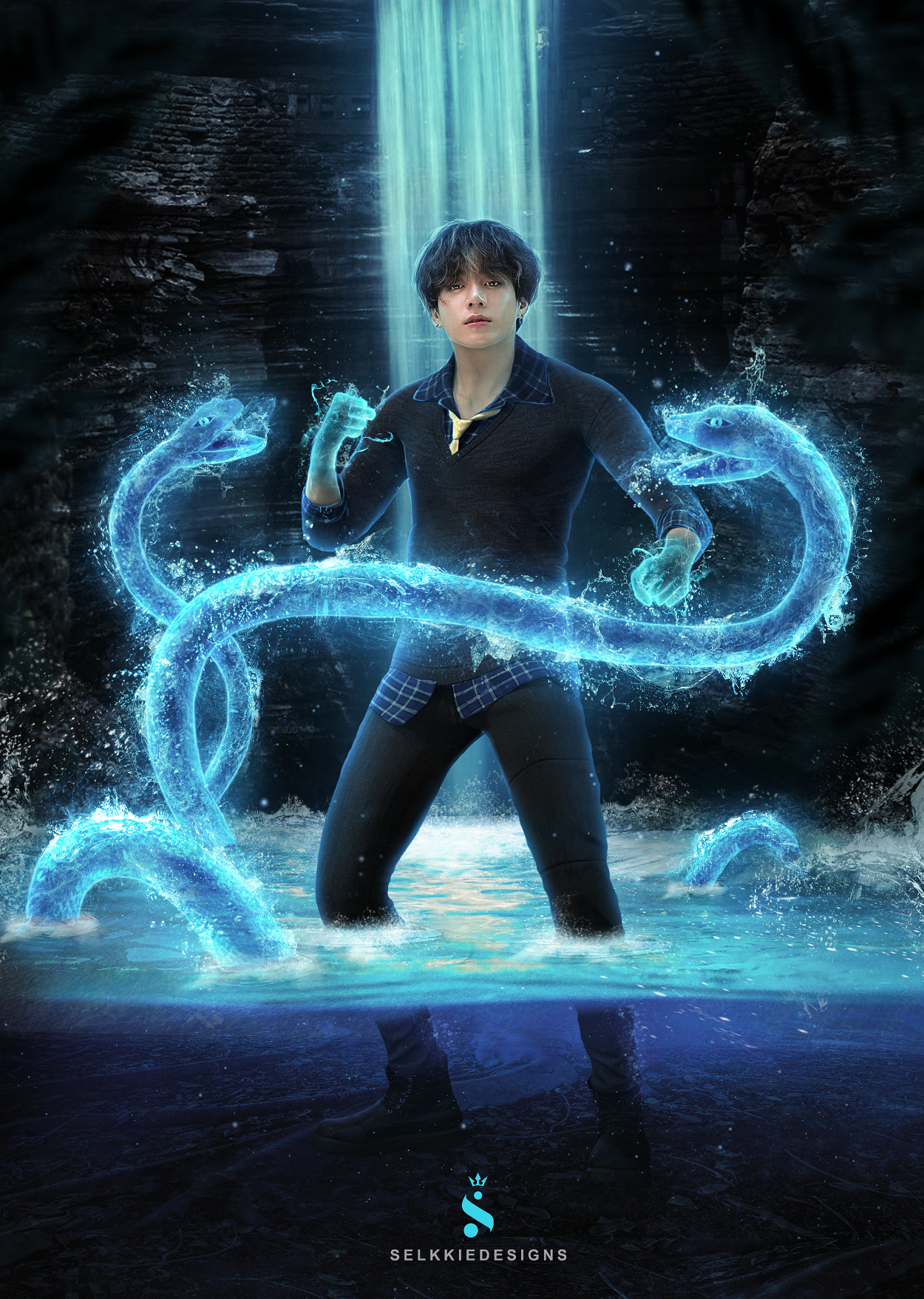 Water Bender - Jungkook Manipulation