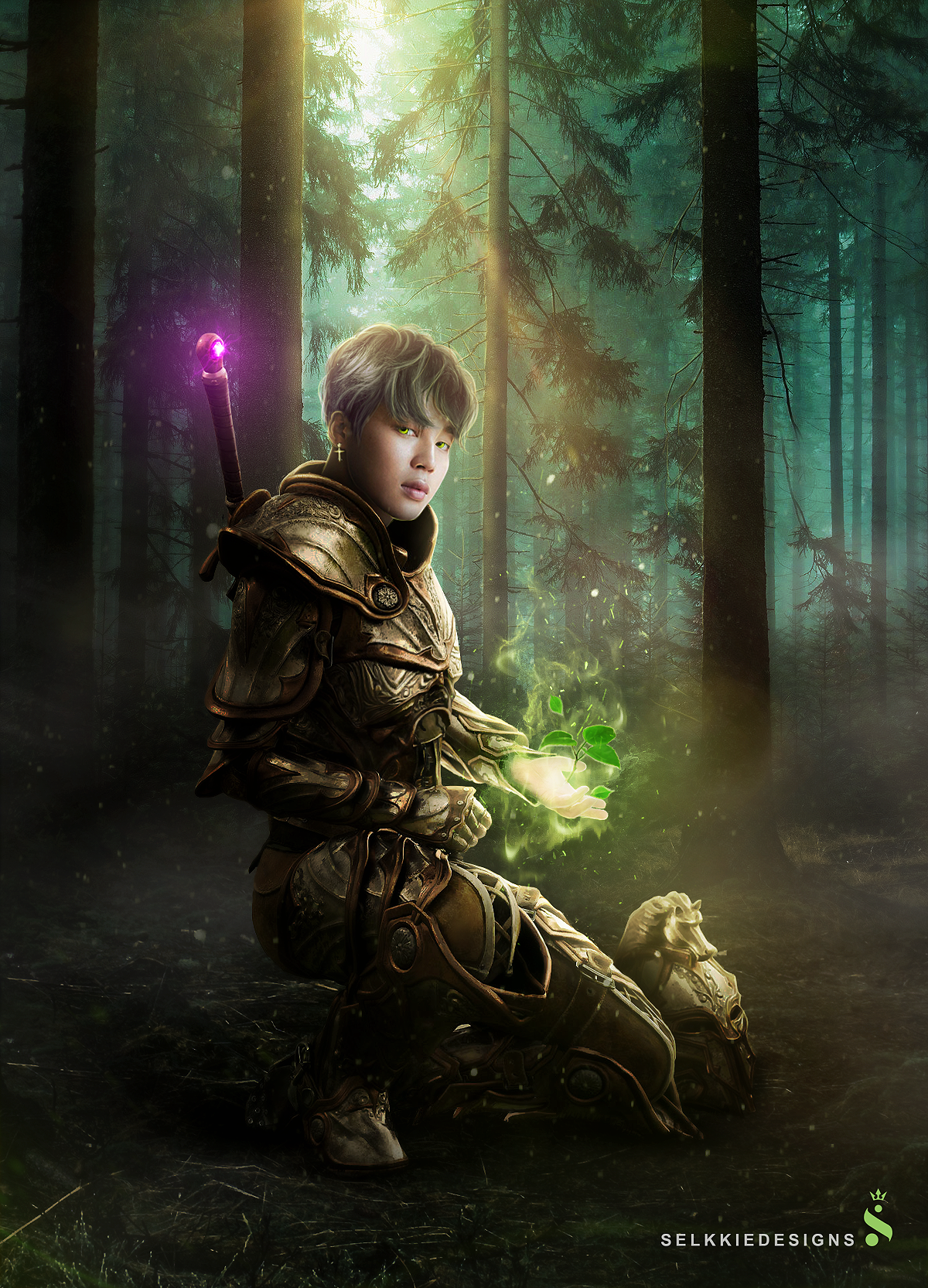 Earth Knight - Jimin Manipulation