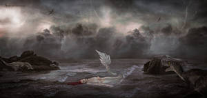 Cretaceous Mermaid - Photomanipulation