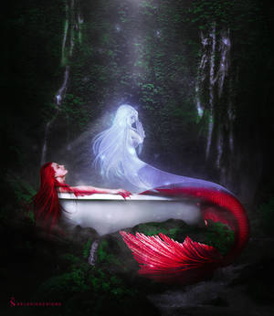 Siren's Soul Photomanipulation (MERMAY2021)