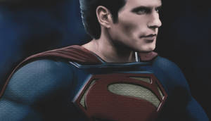 Superman Man of steel portrait