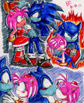 Werehog and Amy