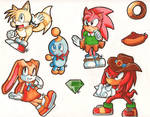 C.Tails - Cheese - C.Amy - C.Knuckles - Cream