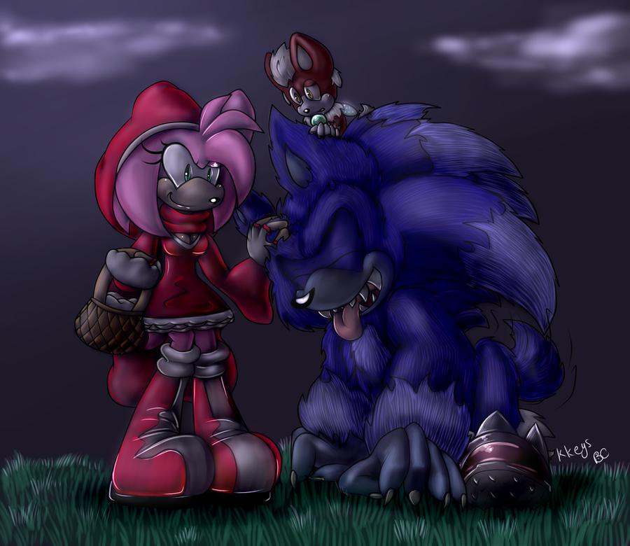 Good Werehog!! by Mitzy-Chan