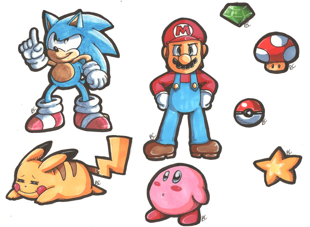 Mario And Sonic Crossovers Favourites By Caramell Nekagi