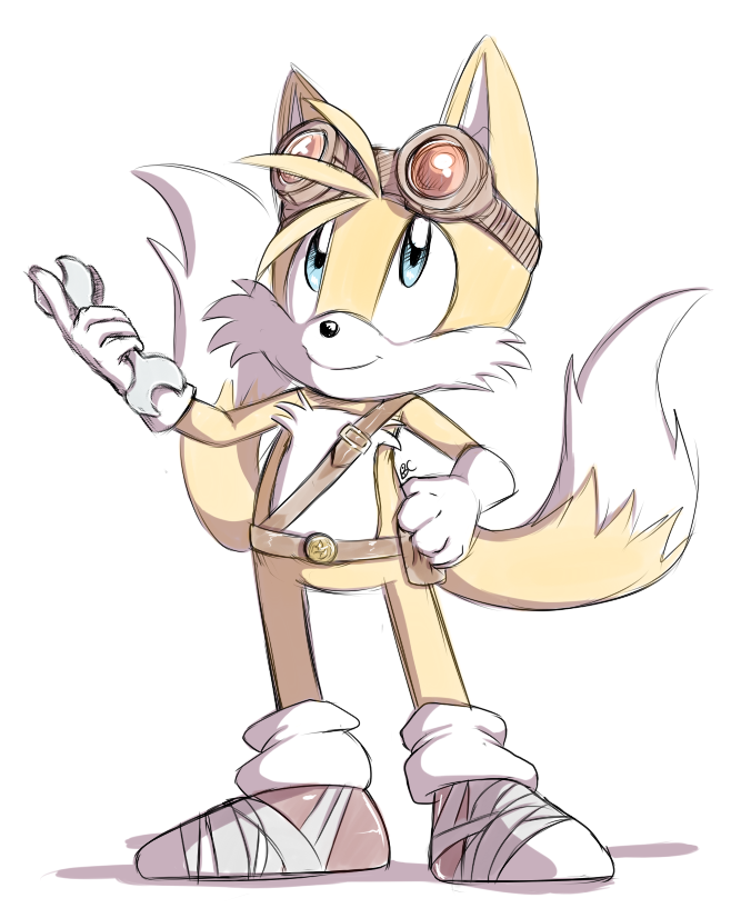 Sonic Boom: Tails by Mitzy-Chan