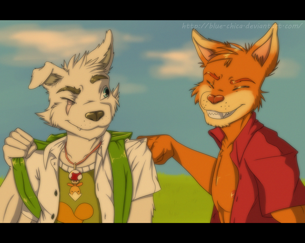 Buddies :comm: by Blue-Chica