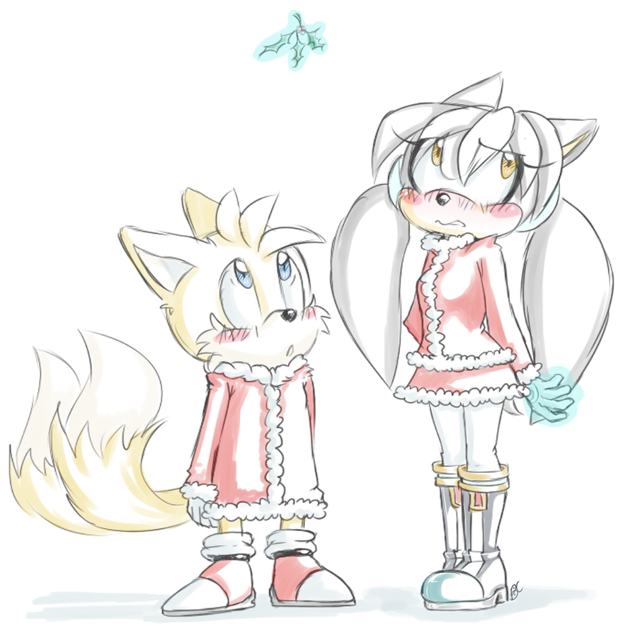 Tails X Silvia :Holiday Comm: by Blue-Chica