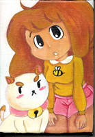 Bee and Puppycat Canvas :gift: by Mitzy-Chan