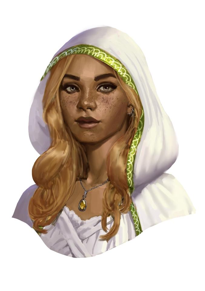 Priestess of light by SrIonart
